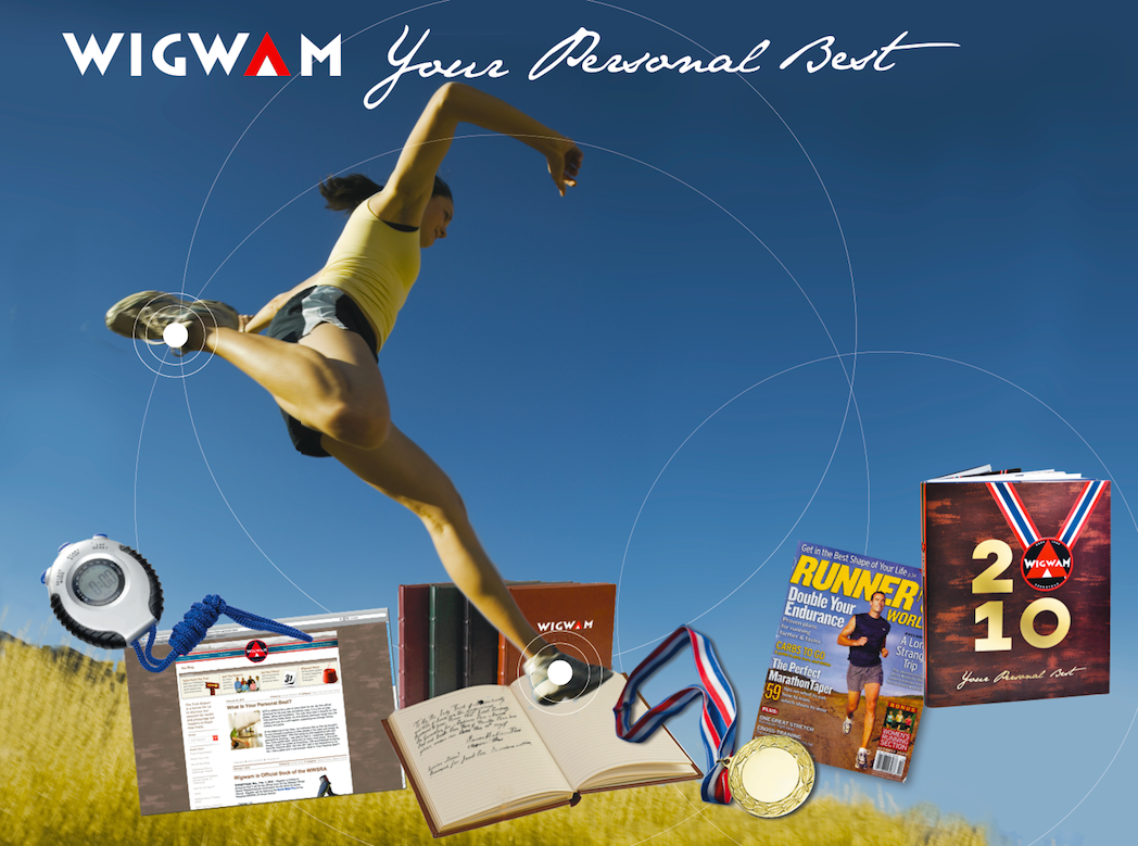 "Wigwam Mills ""Your Personal Best"" Annual Marketing Campaign  by MSLK"