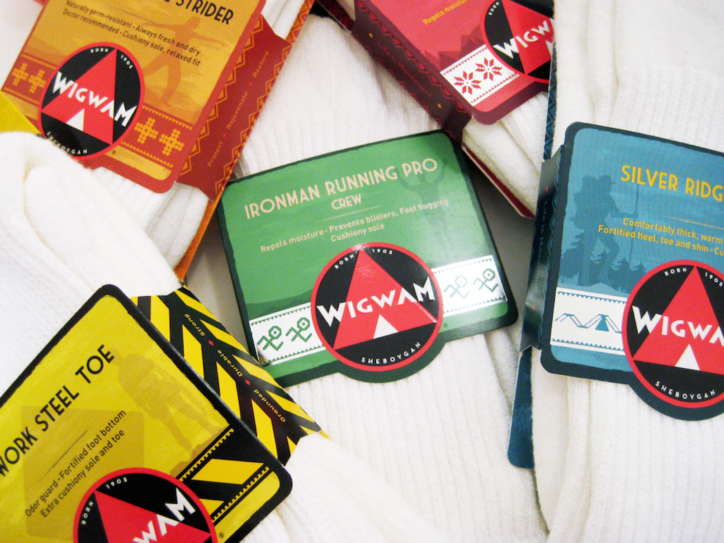 Wigwam: Sock Packaging