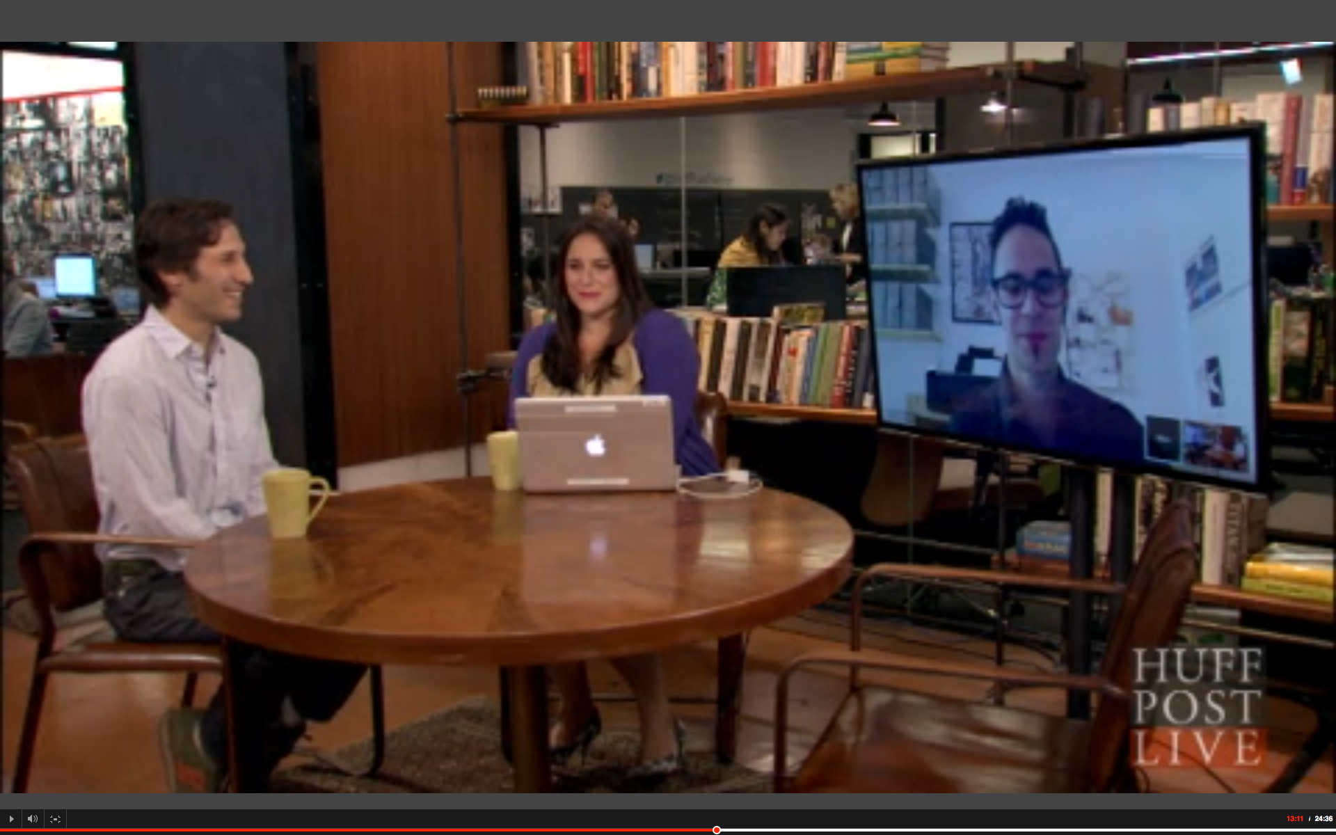 "Marc Levitt Interviewed on HuffingTon Post Live About the Power of ""Invisible"" Work"