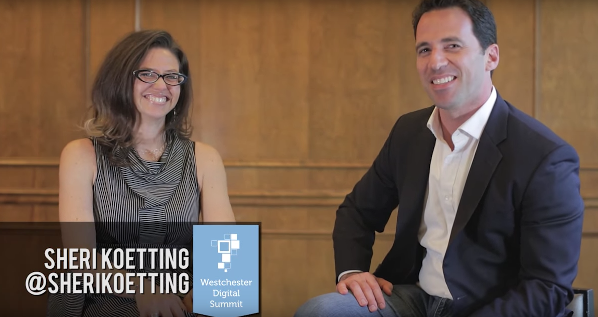 Sheri L Koetting Interviewed by Silverback's Chris Dessi Social at Westchester Digital Summit
