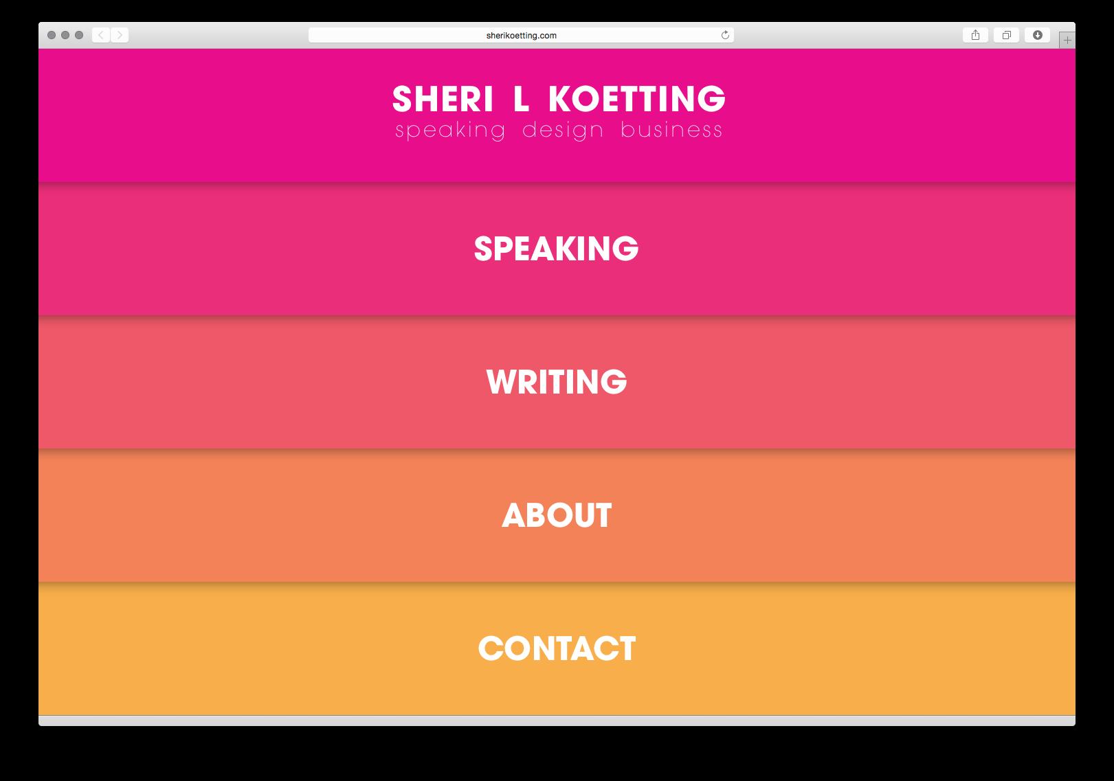 MSLK Partner Sheri L Koetting Launches Her Own Speaker Site