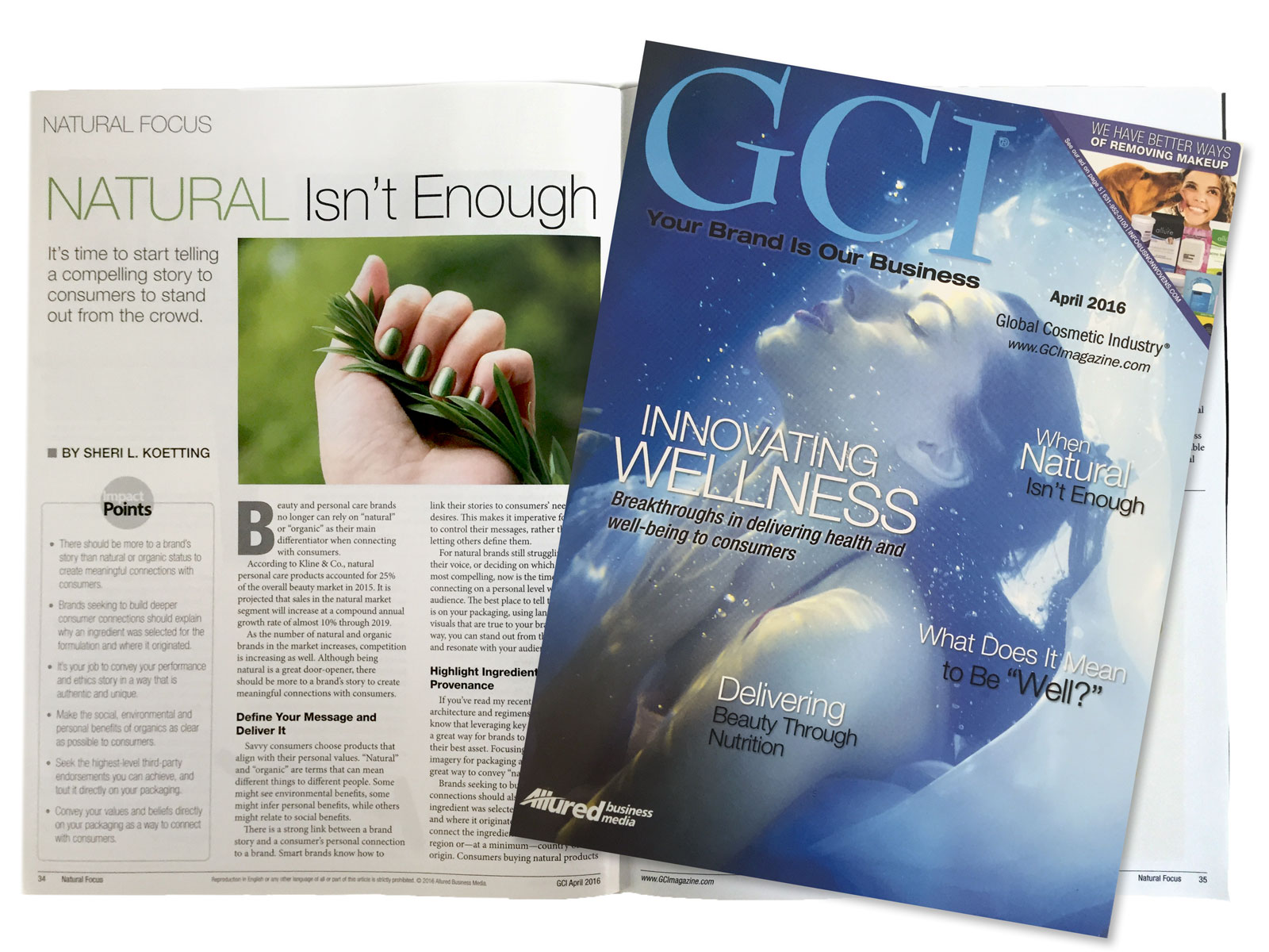 "Sheri L Koetting's latest GCI Magazine Article, ""When Green Isn't Enough"""