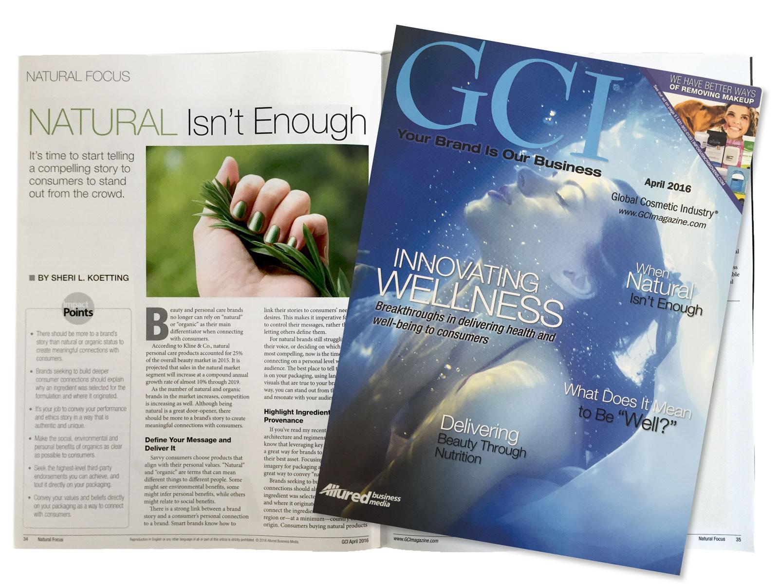 """Sheri L Koetting's latest GCI Magazine Article, """"When Green Isn't Enough"""""""