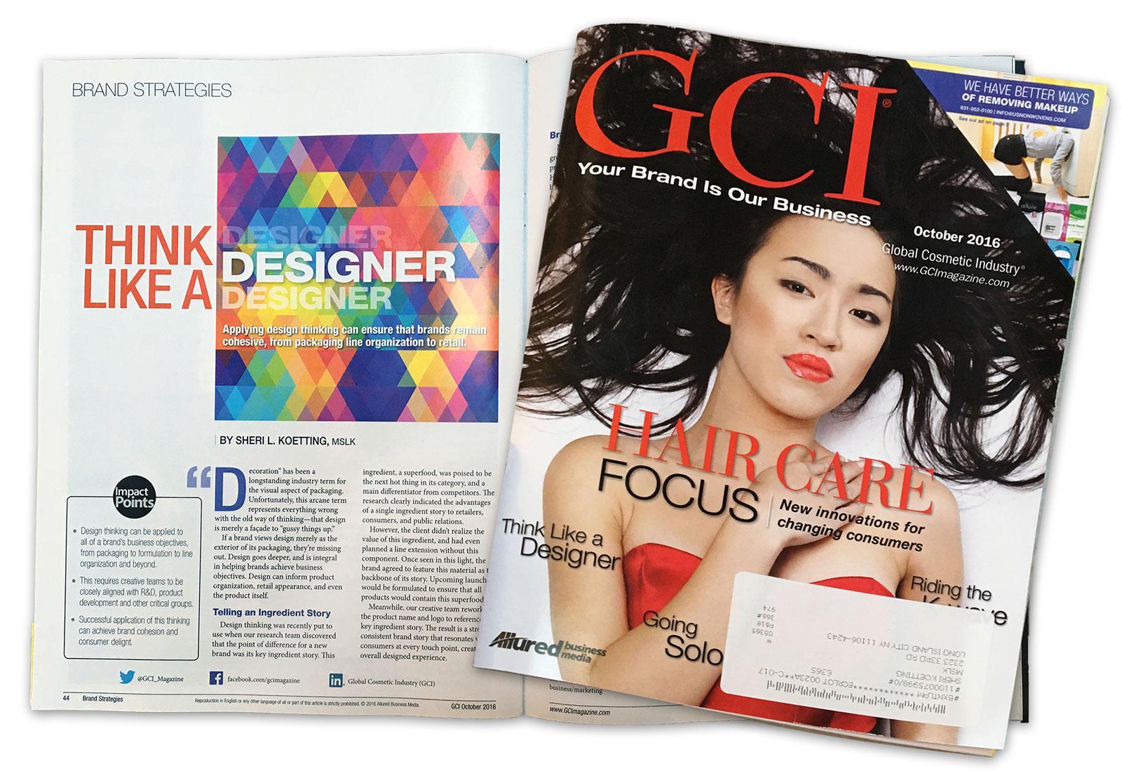 GCI Article: Design Thinking