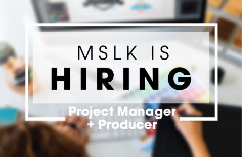 Hiring a Project Manager / Producer