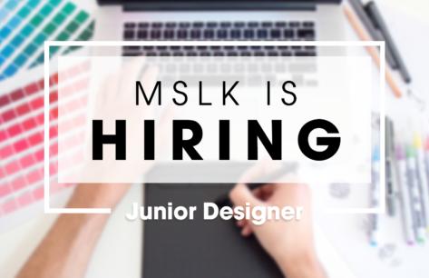 Hiring a Junior Designer