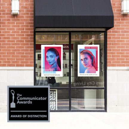 MSLK's Rebrand for Amazing Lash Studios Receives Communicator Award